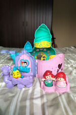Fisher Price Little People Disney Princess Ariel Little Mermaid Castle, Rare Set