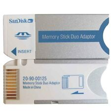 Sandisk MEMORY STICK MS PRO DUO CARD ADAPTER FOR SONY 8GB 4GB 2GB 1GB
