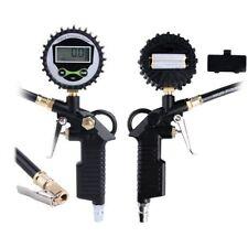Digital LCD Tire Tyre Pressure Gun Gauge Air Inflator Manometer Compressor Tool