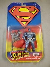 Kenner 1995 D.C. Superman Man Of Steel Steel (John Henry Irons) Action Figure