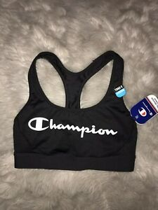 Champion Women's Absolute Workout Sports Bra Black