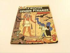 BD Le Mystère de la grande Pyramide Blake Mortimer Dargaud 1969  imp Proost