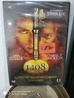1408  STEPHEN KING, JOHN CUSAK, SAMUEL L.  JACKSON DVD NUOVO