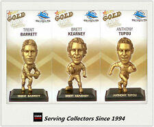 2009 Select NRL Gold Figurine Collectable Trading CARDS team Set Sharks (3)