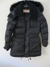 NEW  BURBERRY BRIT Women  Black  Puffer Coat Size SIZE M MSRP 1395