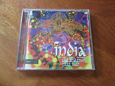 INDIA OLD AND NEW PART TWO 2 CD KPM MUSIC LIBRARY TABLA INDIAN FLUTE NO LP