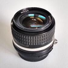 Nikkor 35mm 1:2.8 Manual Focus Lens - Excellent