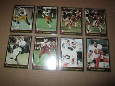 1986 Jogo CFL Football Set 168 of 169 CARDS