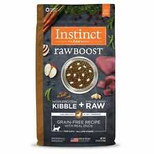 Instinct Raw Boost Grain-Free Recipe with Real Duck Dry Cat Food with