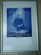 LIAM O`FLYNN CONCERT GIG POSTER 1999 UNRELEASED PRINTERS THE PIPERS CALL POSTER