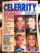 CELEBRITY SKIN - MARCH 26, 1996: Cindy Crawford,Barrymore,Russo, Cattrall, Tyra