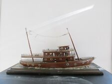 Ship Model Folk Art Combination Sail and Steamship Perc or Stillman Wilbur