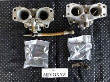Solex Carburetor (Pair) with Inlet Manifold