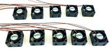 (10)  Sunon MB40201VX-000U-A99 MB Series Axial Fan, 40 x 40 x 20mm 12 V dc - New