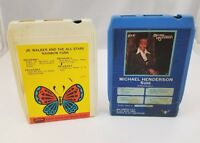 Soul Funk 8 Track Tapes Set of 2 Michael Henderson Jr. Walker & The All-Stars