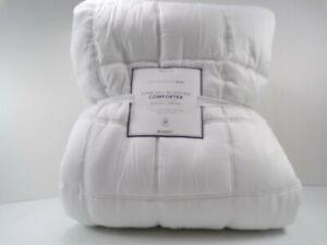 Pottery Barn Teen Super Soft Microfiber Comforter Twin XL White #6560