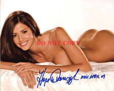2010 Playmate of the Year Hope Dworczyk Autographed 8x10 Signed Photo Reprint