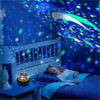 Starry Night Light Projector For Kids Star Baby Bedroom Sky Lamp Universe