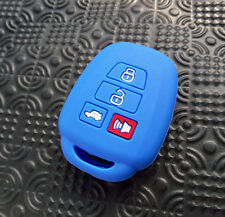 FIT FOR 2014 2015 TOYOTA COROLLA CAMRY SILICONE KEY COVER FOB REMOTE CASE HOLDER