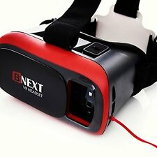 Headset Virtual Reality Glasses Iphone Android 3D VR 360 Movies Video Games NEW