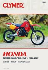 Clymer Repair Service Shop Manual Honda 81-87 CR250,CR450,CR480,84-87 CR500