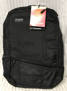"""Timbuk2 Q Backpack Black 26L Padded 17"""" Laptop & iPad Backpack New With Tags"""