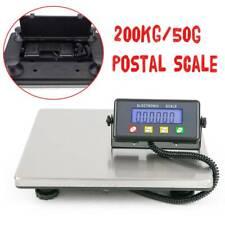 More details for heavy duty digital postal parcel scale weighing 200kg/50g platform postage kg/lb