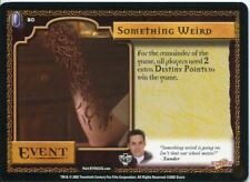 Buffy CCG TCG Angels Curse Unlimited Edition Card #20 Something Weird