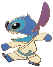 NEW RARE LE 200 Disney Pin✿ Stitch Karate Kung Fu Gi Gear Acme Ready for Battle