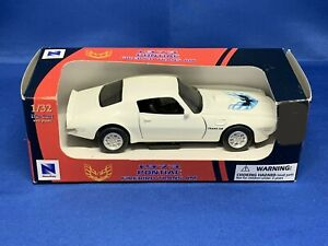 1973 Pontiac Firebird Trans Am 1/32 Scale Diecast Car New Ray/Speedy Power
