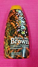 ED HARDY BUTTER ME BROWN DARK DHA FREE BRONZER ~100% AUTHENTIC~FAST SHIPPING