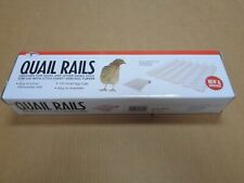 New listing Box Quail Rails 120 Small Egg Cups (for use with Little Giant 6300 Egg Turner)