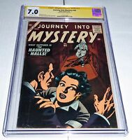 Journey Into Mystery #44 CGC SS Signature Autograph STAN LEE Bill Everett Cover