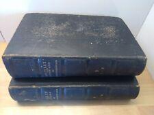 Bouillet Dictionnaire des Sciences, Lettres & Arts en 2 tomes sd XIXème