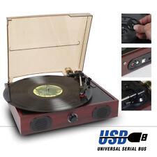 Fenton RP105 2 Speed Retro Vinyl LP Record Player Turntable 33 1/3 45 RPM