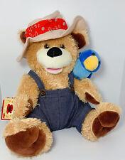 Chantilly Lane Musical Bear Duet Zip A Dee Doo Dah Country Bear Blue Bird
