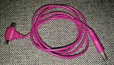 3ft plus USB A Male to Micro-B Male & Mini-B Male (2-in1) Combo Pink Cable