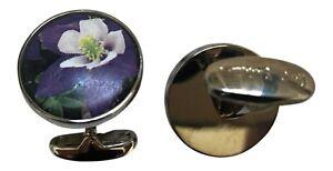 Paul Smith Lily Ceramic Cufflinks