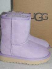 NEW TODDLER 8 LAVENDER FROST GIRLS UGG CLASSIC II SUEDE SHEEPSKIN BOOTS 1017703T