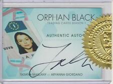 Orphan Black S1 Dealer Incentive Autograph Card TM-G - Tatiana Maslany - Aryanna