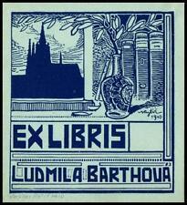Rytir Vaclav 1910 Exlibris Bookplate Architecture 59