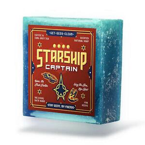 "Get Geek Clean - Star Trek ""Starship Captain"" Kirk Picard Natural Nerd Soap"