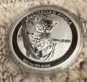 Australian Koala 2015 1oz Silver Pure Silver Perth Mint Proof Coin 1Dollar