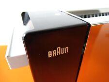 BRAUN HT 2 Toaster Automatiktoaster Langschlitztoaster 1963 WEISS RAR TOP