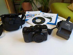 Canon PowerShot G10 très bon état, batterie, chargeur et sacoche inclus
