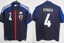 2012-2013 Japan National Team JFA Football Jersey Shirt Home Adidas Honda #4 L