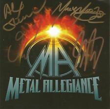 Metal Allegiance Autographed Self Titled CD