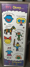 3' X 1' It's Okay To Be Different By Todd Parr Poster