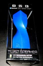 iSound Twist Bluetooth Wireless Mobile Speaker Glossy Blue- Battery Rechargeable