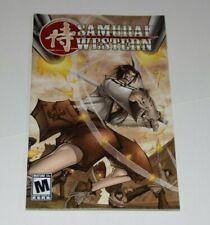 Playstation 2 PS2 SAMURAI WESTERN Instruction Book Manual Only Atlus